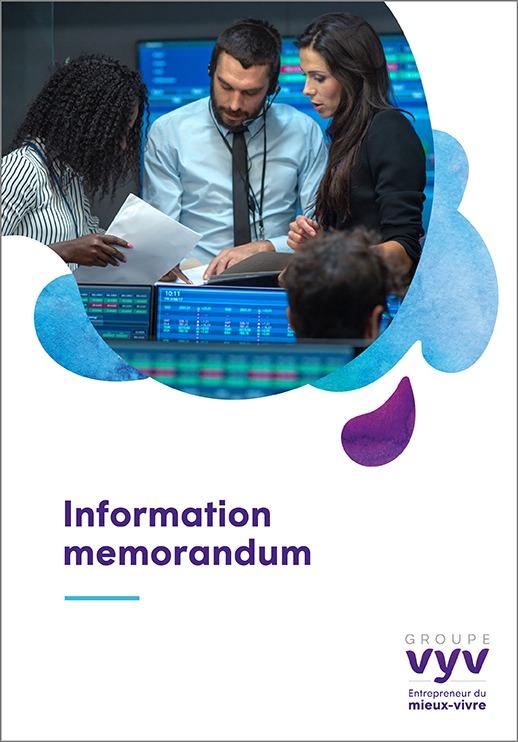 Information Memorandum – UMG Groupe VYV