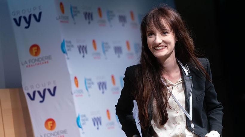 Trophée Signatures Santé : Maud Le Rest, lauréate du prix prévention