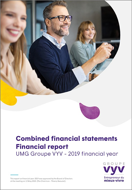 Combined financial statements Financial report