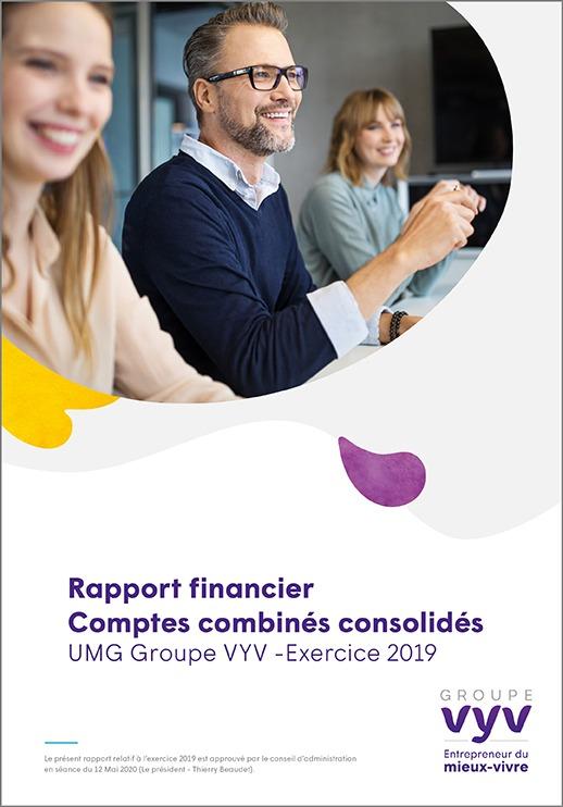 Rapport financier Comptes combinés consolidés