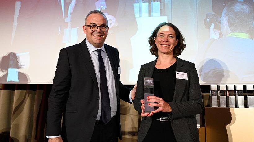 Yvon remporte le trophée d'or de l'innovation marketing