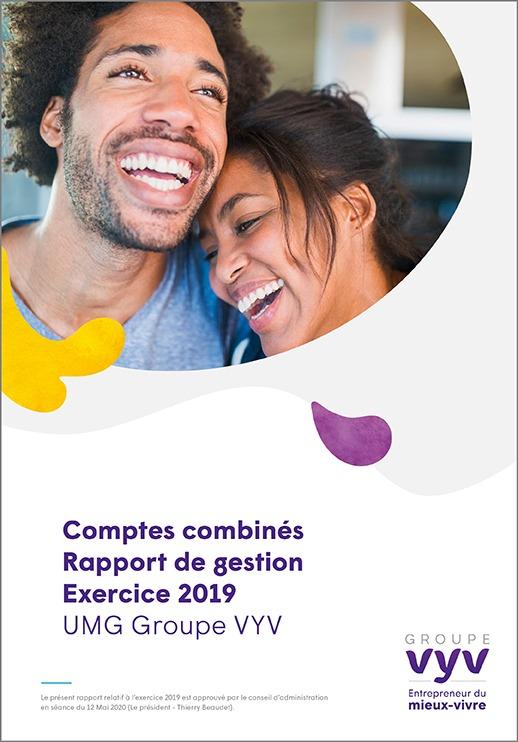 Comptes combinés – Rapport de gestion – Exercice 2019