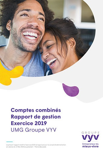 Comptes combinés - Rapport de gestion - Exercice 2019