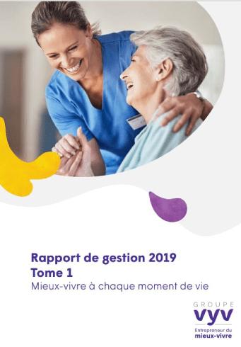 Rapport de gestion 2019 - Tome 1