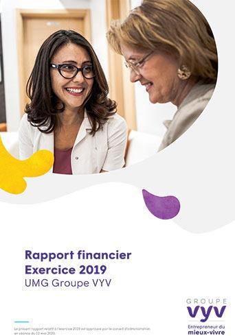 Rapport financier exercice 2019