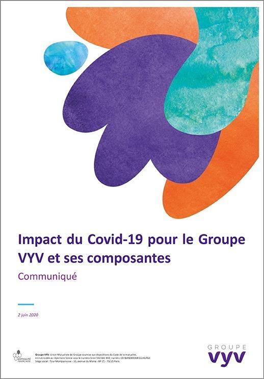 Impact Covid 19 sur le Groupe VYV <br>