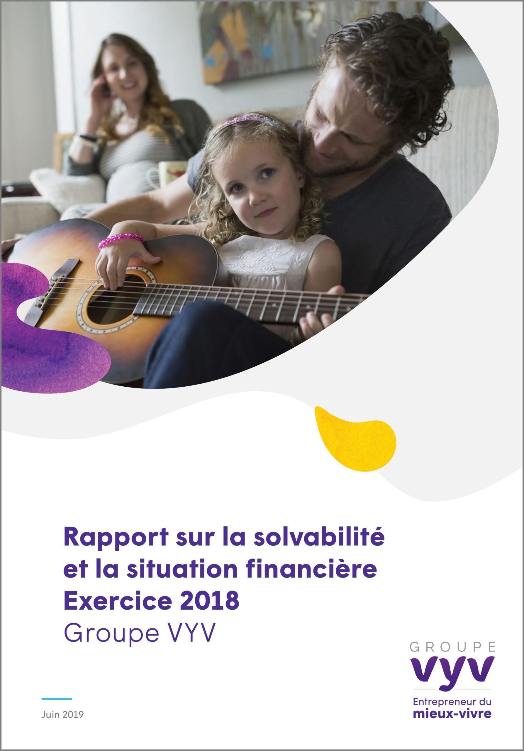 Rapport sur la solvabilité et la situation financière 2018