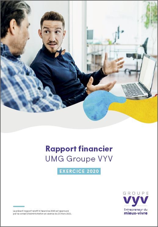 Rapport financier exercice 2020