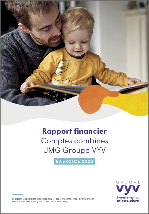 Comptes combinés - Rapport de gestion - Exercice 2020