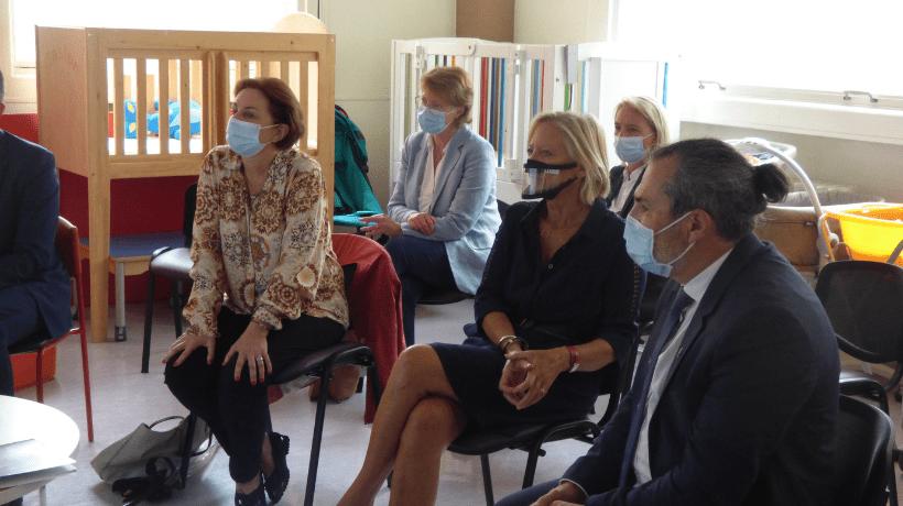 Sophie Cluzel en visite au SAPPH de VYV<sup>3</sup> Ile-de-France