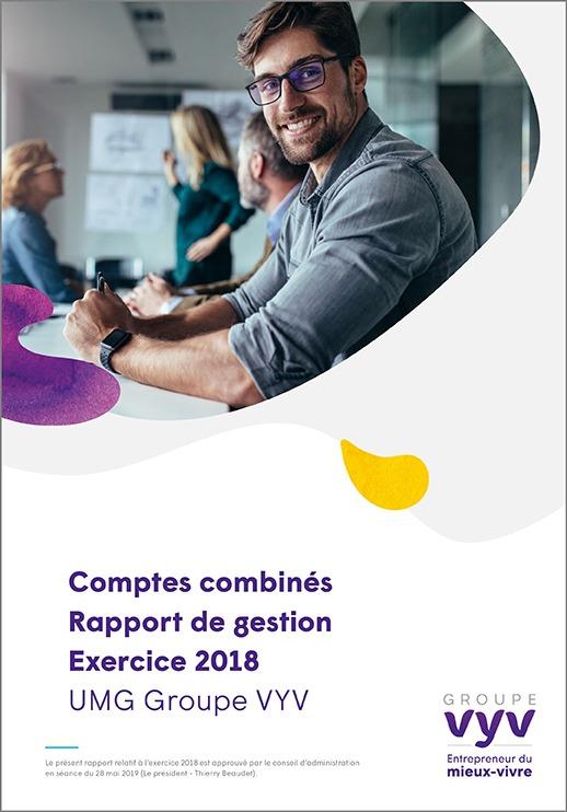 Comptes combinés – Rapport de gestion – Exercice 2018