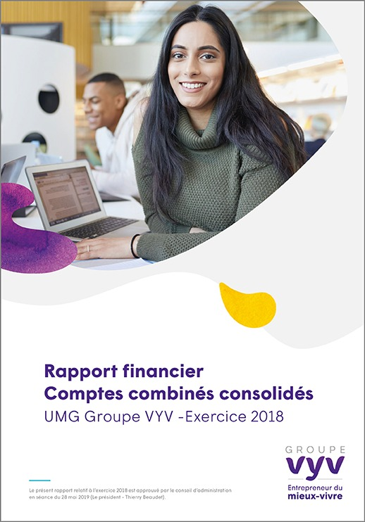 Rapport financier comptes combines consolidés – Exercice 2018